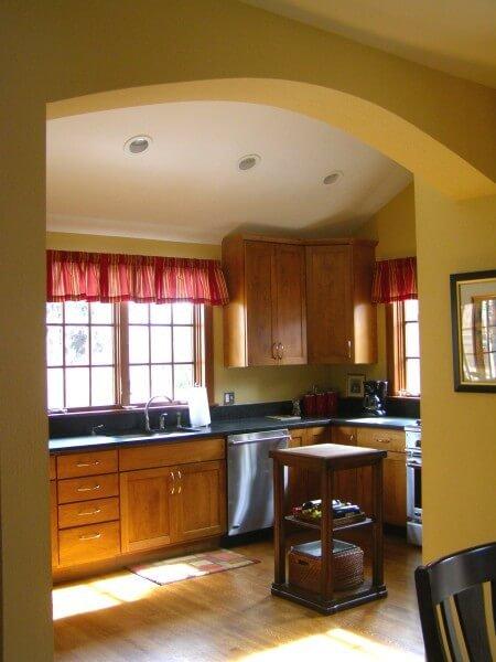Denver Kitchen Remodel Vaulted Ceiling - Denver Remodeling ...