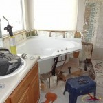 Modern Denver Bathroom Remodel - Demo Picture 2