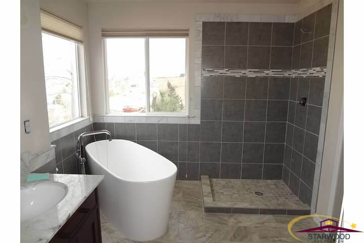Modern Denver Bathroom Remodel - Finished Picture 1