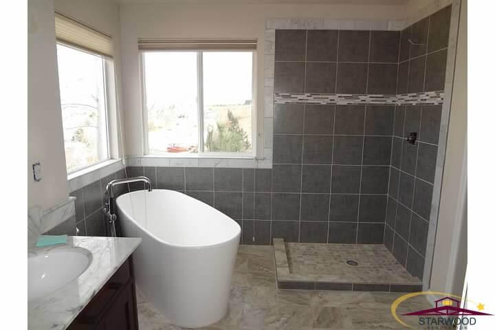 Superieur Modern Denver Bathroom Remodel   Finished Picture 1