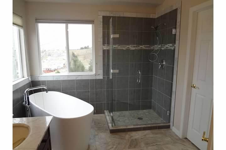 Modern Bathroom Remodel Denver Remodeling Starwood