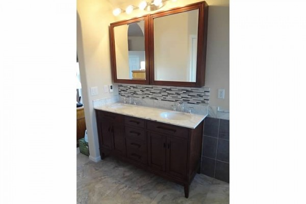 Denver Modern Bathroom Remodel - Starwood Renovation