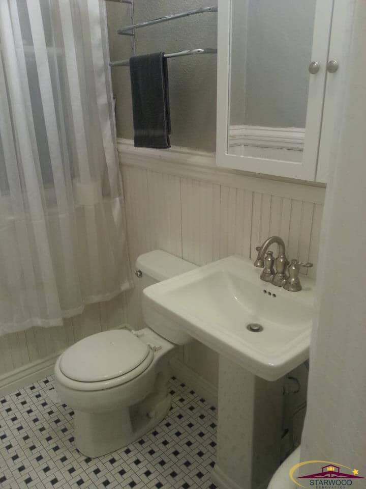 Bathroom Fixtures Denver denver bathroom remodel - highlands bungalow - denver remodeling