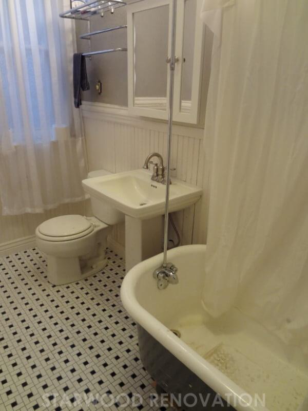 Denver Bungalow Bathroom Remodel in The Highlands