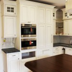 Denver cherry creek colonial kitchen remodel custom crown molding