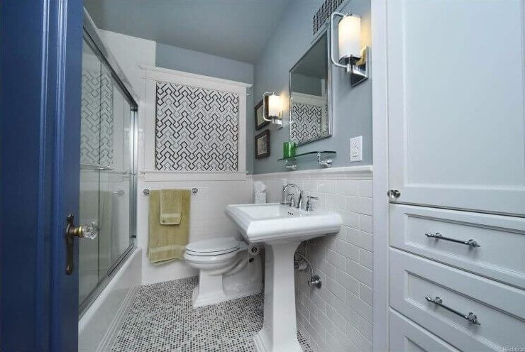 Small Bathroom Remodel Denver Tudor Home