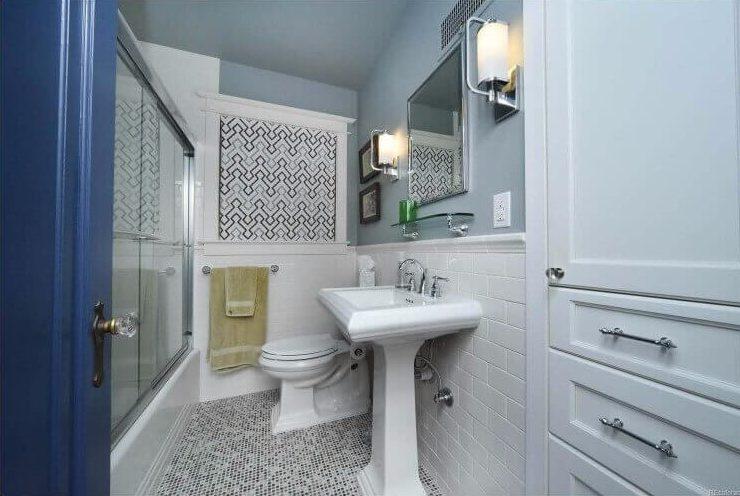 Small Bathroom Remodel Denver Tudor Home