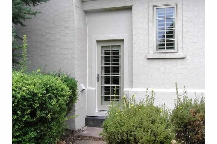 External door to converted patio in Denver