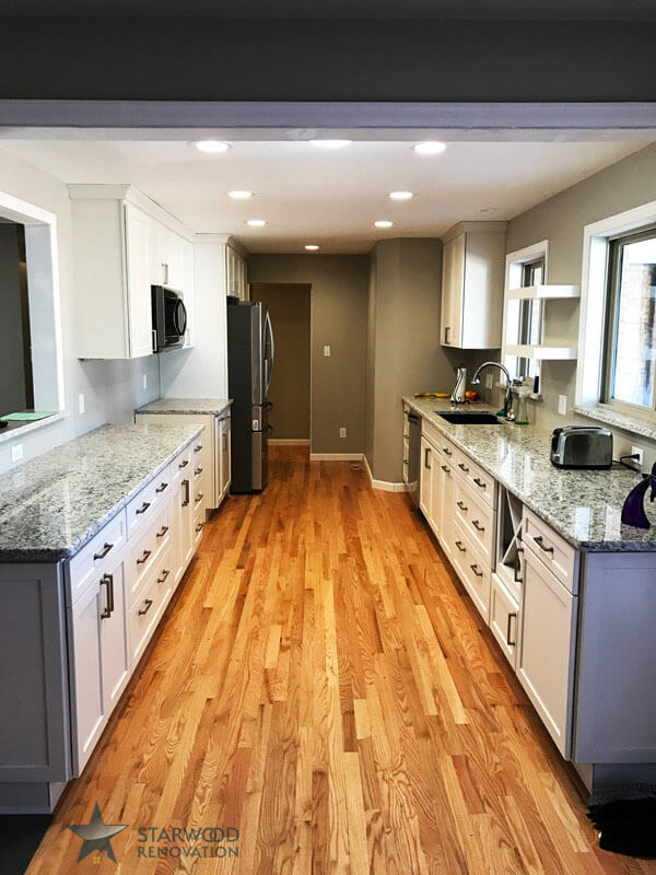 remodeling a galley kitchen kitchen remodel denver denver remodeling starwood 4696