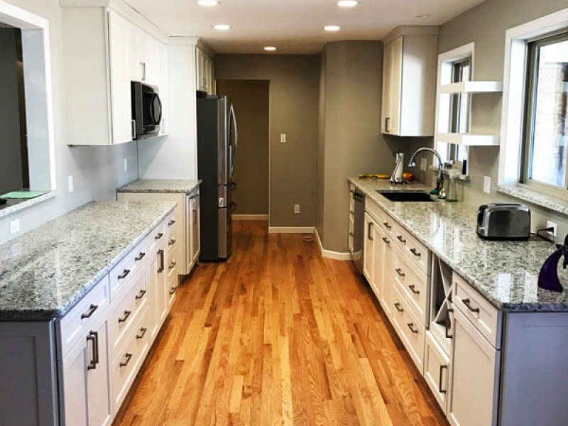 Denver Kitchen Remodel Galley